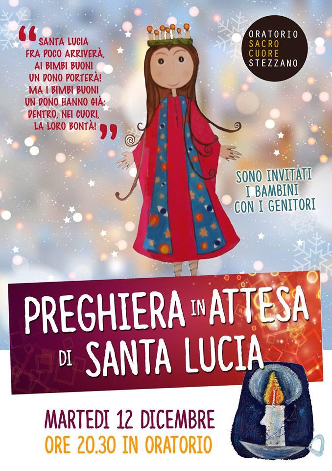 Preghiera In Attesa Di Santa Lucia